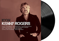 Kenny Rogers - Icon Exclusive Limited Edition Black Colored Vinyl LP