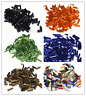 1500pcs 2x7mm Wholesale Lot Jewelry DIY Loose Czech Glass Tube Spacer Seed Beads