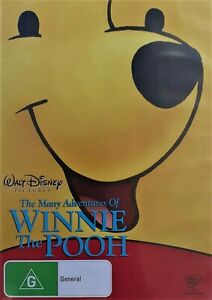 The Many Adventures of Winnie The Pooh (DVD, 2009, R4) - Used Good Condition -