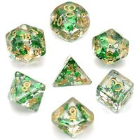cusdie DND Dice Polyhedral Dice Set for Dungeons and Dragons, Pathfinder, Sha...