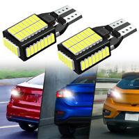 2pcs T15 LED Car Reverse Back Up Light Bulbs 921 912 W16W 904 906 Accessories