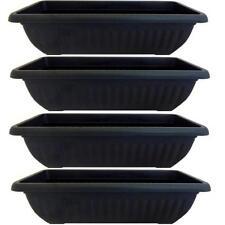 vasi neri per piante resina