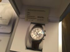 Men's IWC Spitfire Fliegeruhr Chronograph Automatic Wristwatch Box & Papers 43mm
