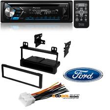 PIONEER CD RECEIVER BLUETOOTH W/ Car Stereo Dash Install Mounting Trim Kit (3)