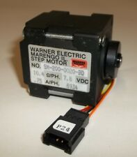 Warner Electric Slo Syn 6 Wire Bipolar 4 Phase Stepper Motor Sm 200 0020 Bd 78v