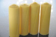 4x Velas Cera de abeja XXL 100% 220 x 65mm hecho a mano AUS D
