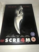 Scream 4 (DVD, 2011) SUPERFAST Dispatch