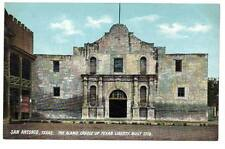 "Vintage post card""San Antonio,Texas.The Alamo.Cradle of Texas'Liberty,Built 1718"