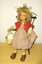 Zapf Creation Puppe Sophie - Bettina Feigenspan Hirsch - Vinyl Stoffkörper 1997
