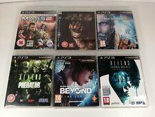 Playstation PS3 Games Bundle x 6 Lost Planet 3, Aliens Vs Predator, Dead Space