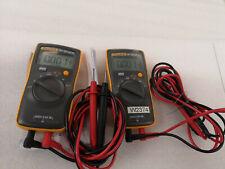 Fluke 101 Digital Multimeter Pocket Portable Meter Equipment Industrial 687