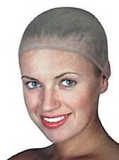Hair Elastic Wig Cap Fishnet Liner Weaving Mesh Stocking Sleep Net Beige Nude UK