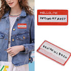 2x Bird+Flower Sewing Embroidered Jacket Jeans Patch Iron On Applique Dress DIY