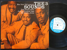 THREE SOUNDS The 3 Sounds LP BLUE NOTE BLP 1600 US '58 RVG EAR DG MONO 47 W.63rd