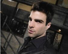 ZACHARY QUINTO HEROES AUTOGRAPHED PHOTO SIGNED 8X10 #1 SYLAR