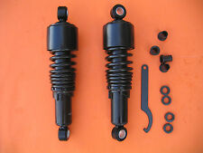 "10.5"" Stubby Shocks Harley Sportster Forty Eight Iron 883 XL Lowering Black new"