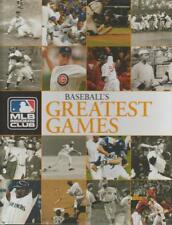 Baseball Greatest Games Major League Classics Eric Enders 2008 MLB Insiders Club