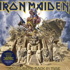 IRON MAIDEN Somewhere Back in Time-The best of - 2lp/picture VINILE-LIMITED