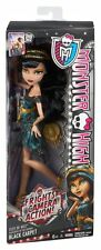 Monster High Frights Camera Action! Cleo De Nile Alfombra Negra Muñeca