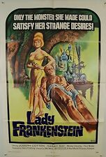 LADY FRANKENSTEIN in FINE CONDITION-UNRESTORED US 1SH  (New World, 1972)