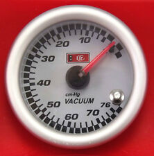 53mm 2.3/32'' Vacuum Gauge electric with Optional 7 LED Colour Change Function