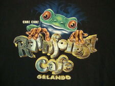 Rainforest Cafe Orlando Floridia Wild Animal Restaurant Graphic Print TShirt 2XL