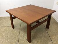70er Jahre Teak Tisch Couchtisch Coffee Table Danish Design Denmark Mid Century