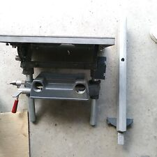 ShopSmith Mark V attachments parts - main saw table assembly with fence