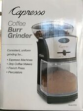 Brand New Capresso Coffee Burr Grinder Model # 559