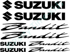 Suzuki Bandit GSF 600 750 1200 Motorbike Vinyl Decal Set Stickers Graphics