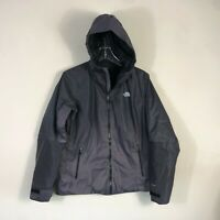 The North Face Quilted Jacket Women's L Primaloft Hyvent Hooded Winter Coat EUC