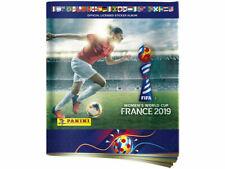 Panini Women's World Cup 2019 Empty Sticker Album + 6 womens player stickers
