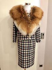 CHANEL ✨ Kostüm Boucle Rock Blazer Jacke Jacket Suit  DE 38/40 Tweed Wool Mohair