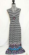 Lennie for Nina Leonard Women's Maxi Dress Multi-Colored Size Small S