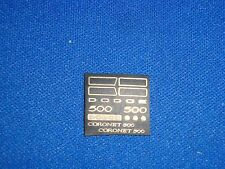 25th scale 1970 Dodge Coronet 500 Photo Etch set AMT MPC From Missing Link