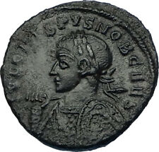 CRISPUS son of Constantine I the Great 322AD Ancient Roman Coin ALTAR  i65731