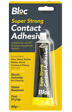 BLOC 60g Super Contact Adhesive Water Resistant Instant Bonding Glass Metal Wood