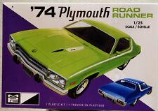1974 Plymouth Roadrunner 1:25 MPC 920 wieder neu 2019