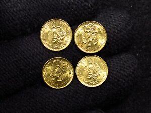 1945 Mexico Gold 2 Pesos (1 COIN)