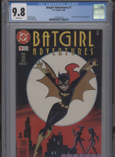 BATGIRL ADVENTURES #1 MT 9.8 CGC WHITE PAGES HARLEY QUINN POISON IVY APP. TIMM