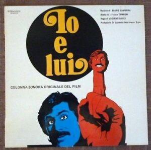 Io E Lui (Colonna Sonora Originale Del Film) - Bruno Zambrini - 1973 Italian