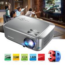Excelvan BL68 Proyector 1280*800 Projector De Home Cinema 3D 1080P HDMI VGA USB