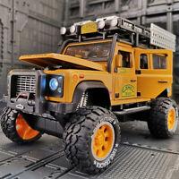 1:28 Camel Trophy Land Rover Defender Off Road Diecast Model Car Toy Collection