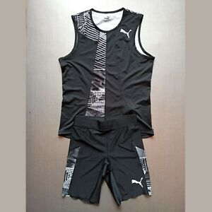 PUMA 2020 Pro Elite Team Singlet Half tights Track & Field like Mondo Duplantis