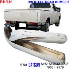 DATSUN 520 521 620 PICKUP STEEL REAR BUMPER PAIR RH LH 1968 69 70 71 72 73 -1979
