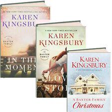Baxter Family 1-3 Christmas, Love Story, This Moment Karen Kingsbury (Hardcover)