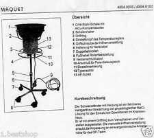 MAQUET 4904.9500 heizbarer Schalenständer Op Schüssel CrNi Heated Bowl Holder BW