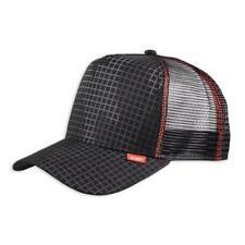 Djinns HFT WeirdCamo Cap black High Fitted Mesh Trucker Kappe Check Karo Basecap