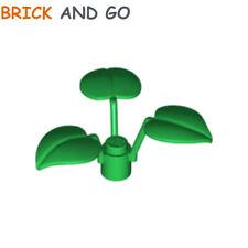 1 x LEGO 6255 Plante 3 Feuilles (vert, green) Flower Stem 3 Leaves NEUF NEW