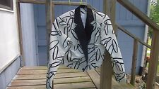 Unbranded Bolero style western horse show women's top size 14 white & black